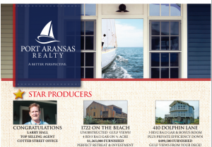 Larry Hall Top Producing Agent Port Aransas Real Estate