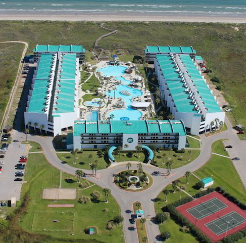 birds-eye view of Port Royal and its amenities